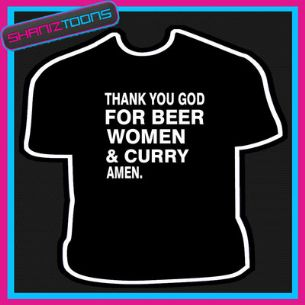 BEER WOMEN & CURRY TSHIRT